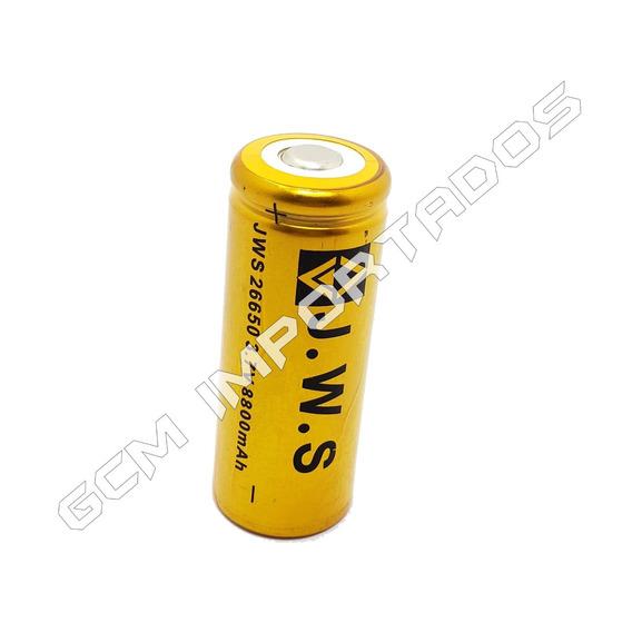 Bateria Pilha Jws Recarregável 26650 8800mah 3,7v Li-ion