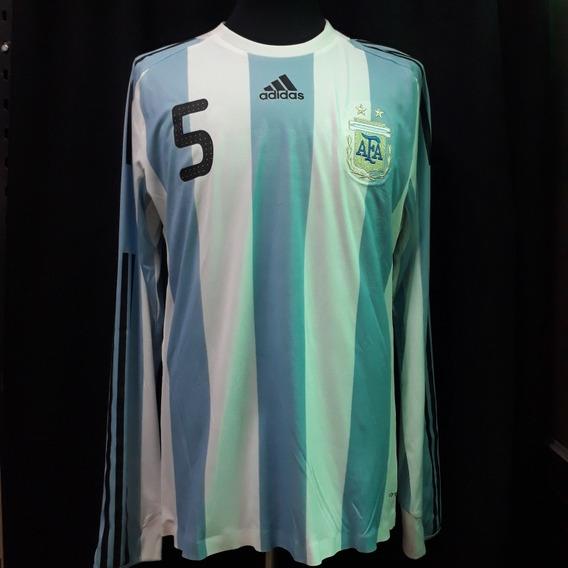 Seleccion Argentina 2009 Vs Francia - adidas - Fernando Gago