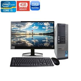Computador Dell 990 Sff Core I5-2400 4gb Hd 250gb + Wi-fi