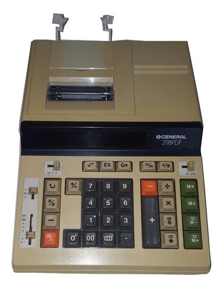 Calculadora Eletrónica General 2118 Pdf