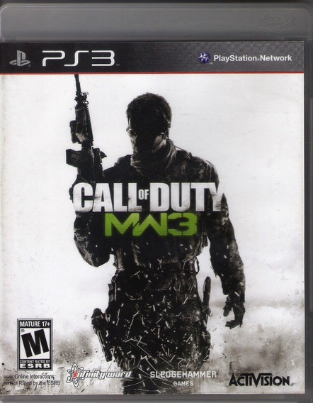 Jogo Ps3 Call Of Duty Mw3