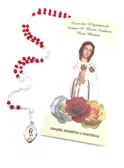 Terço Das Lágrimas De Sangue De Nossa Senhora Rosa Mística