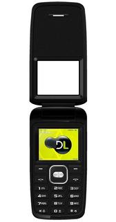 Celular Dl Flip Tela 1.8 Câmera Digital Dual Yc-330 Branco
