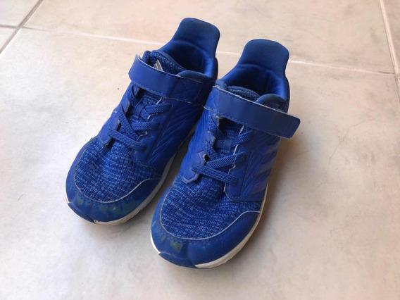 Zapatillas adidas Niños Rapidarun 27 Azul Importadas De Usa