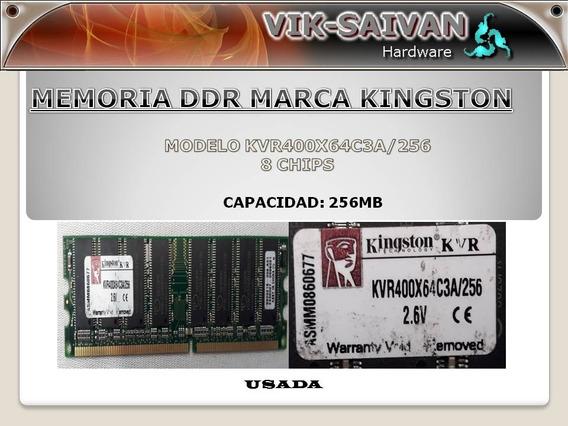 Memoria Ddr Kingston 256mb Pc-3200 400mhz 8 Chips 24