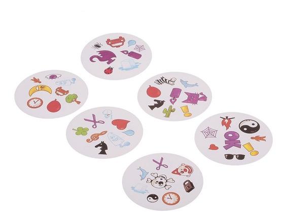 Dobble Cartão Jogo Tabela Jogos Jogar Cartões Crianças Brinq