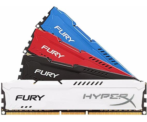 Memoria Kingston Hyperx Fury 8gb Ddr3 1600 Mhz Envio 2