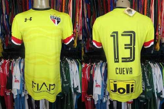 São Paulo 2016 Terceira Camisa Tamanho M Número 13 Cuevas.
