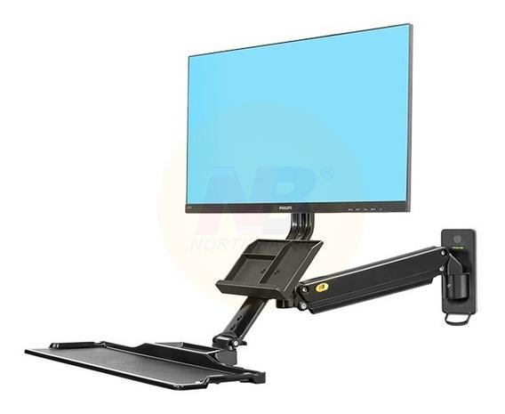 Estacion De Trabajo Nb North Bayou Mc 32 Monitor Y Teclado