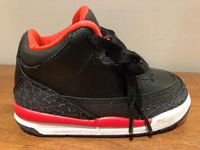 Baby Nike Air Jordan Retro 3 crimson 12 Cm T469