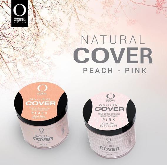 Cover Organic Nails 50grs. ($por Unidad)