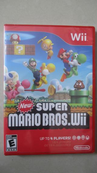 New Super Mario Bros. Wii Lacrado De Fabrica A+++