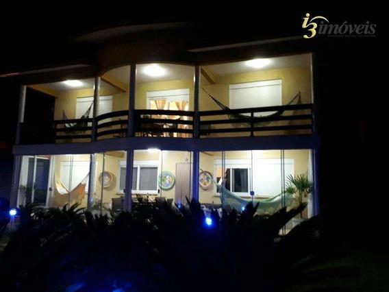 Casa Com 3 Suítes, Condomínio Fechado, Farol De Santa Marta, Praia Do Cardoso, Laguna Sc - Ca0257