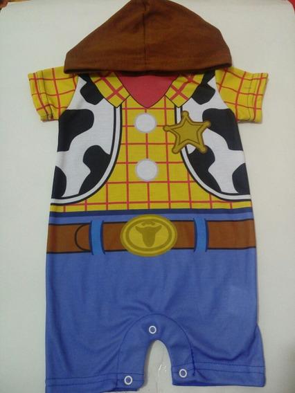Ropa Para Bebé Pañalero Woody De Toy Story Talla 3 Meses
