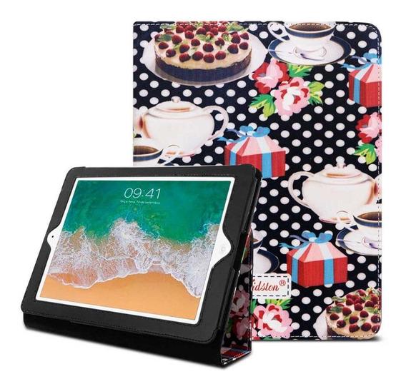 Capa Tablet iPad 2 3 E 4 9.7 Polegadas Preto Estampa Cozinha