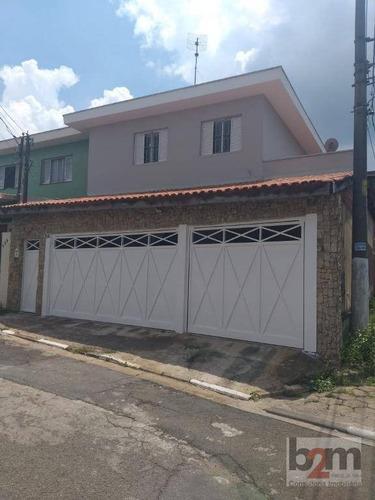 Imagem 1 de 14 de Sobrado Com 3 Dormitórios À Venda, 127 M² Por R$ 700.000 - Km 18 - Osasco/sp - So0616
