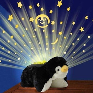 Lampara Pillow Pets Pinguino Peluche Dream Lites