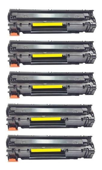 Kit 5 Cartucho Ce285a 85a Ce-285a P1102w M1132