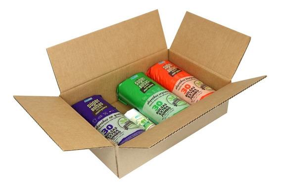 Bolsas Para Basura Ecológicas Kit Con 4 Rollos - 110 Pzas