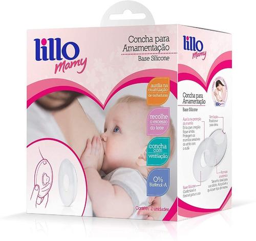 Concha Para Amamentação Base Silicone - Lillo