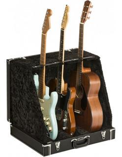 Case Stand Fender 3 Guitarras Classic Series Blk 0991023506