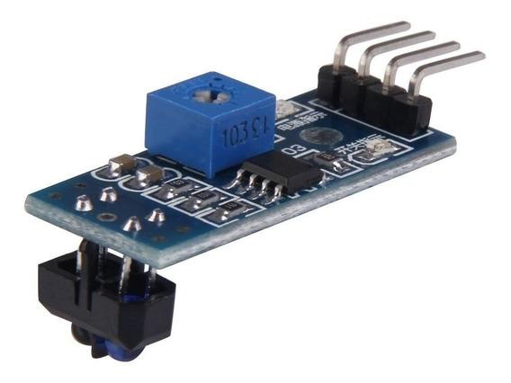 Sensor Reflexivo Ir Infravermelho Seguidor Linha Tcrt5000