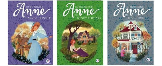 Livro Série Anne De Green Gables - 3 Livros (4, 5 E 6)