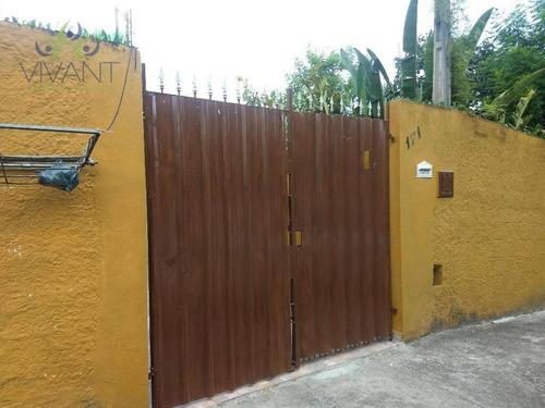Casa Com 1 Dormitório Para Alugar, 60 M² Por R$ 900,00/mês - Meu Cantinho - Suzano/sp - Ca0288