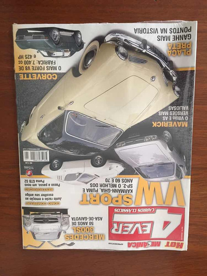 Revista Hot Mecânica Karmann Ghia Corvette Puma Sp2 E Mais