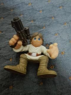 Star Wars Galactic Heroes Playskool Hasbro Luke Pistola