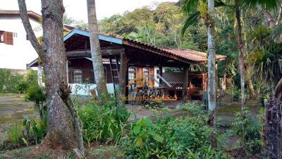 Chácara Com 1 Dormitório À Venda, 1200 M² Por R$ 480.000 - Rio Grande - São Bernardo Do Campo/sp - Ch0018