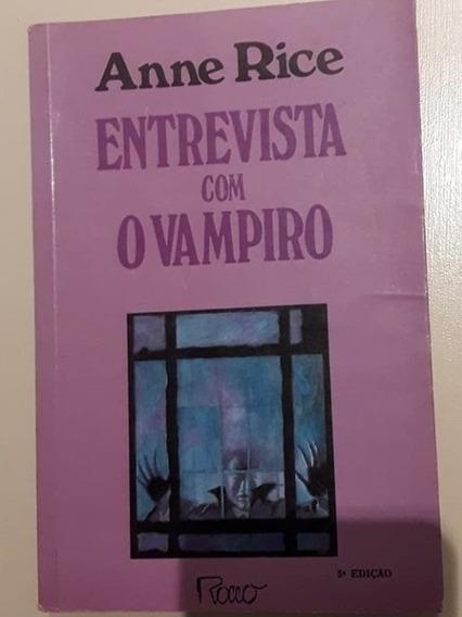 Livro: Entrevista Com O Vampiro