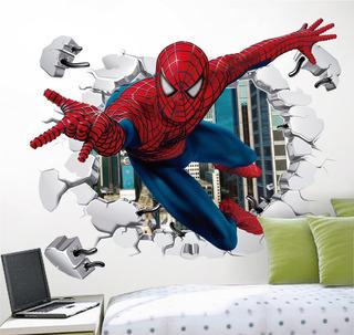 Vinilo Decorativo 3d, Avengers I33 Spiderman, Sticker