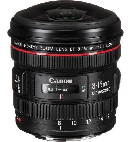 Lente Canon Olho De Peixe Ef 8-15mm F/4l Usm - Lj. Platinum