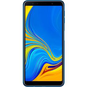 Smartphone Samsung A7, Azul, A750g, Tela De 6 ,128gb, 24mp