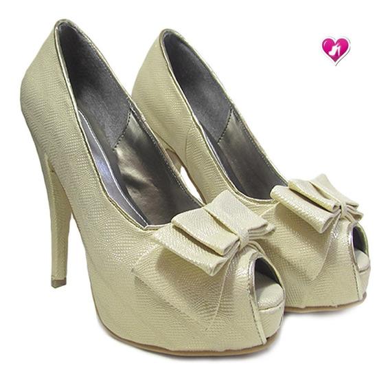 Stilletto De Fiesta Taco Fino Modelo Mia 3 De Shoes Bayres