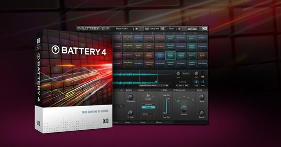 Battery 4 Sampler De Bateria Envio E Instalção Grátis E Imed