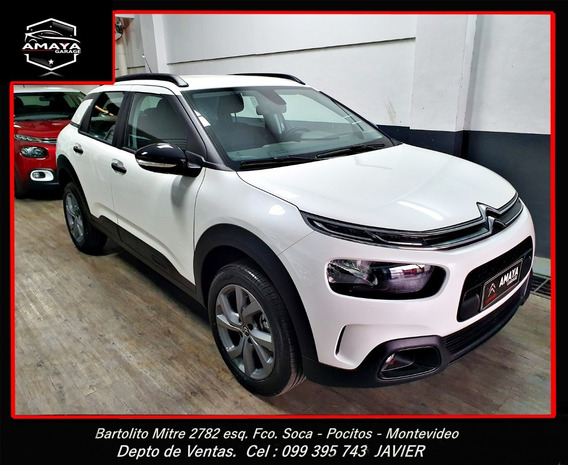 Amaya Garage Nueva C4 Cactus Feel Pack 1.6 Vti 115 At6 0km.