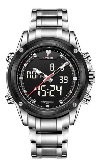 Relógio Naviforce Quartzo Analógico/digital À Prova D