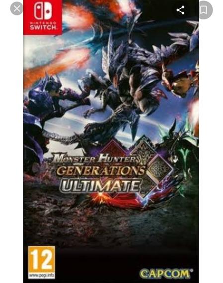 Monster Hunter Nintendo Switch Mídia Física