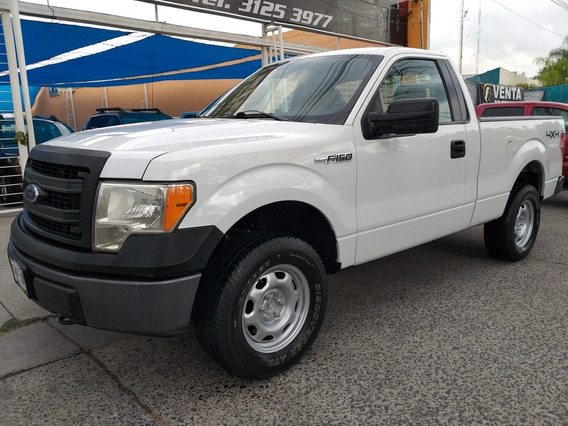 Ford F-150 3.7 Xl Cabina Regular 4x4 Mt 2014,65,000km,credit
