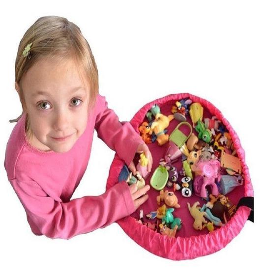 Tapete Saco Bolsa Org. Brinquedos Kids- 45cm Frete Grátis