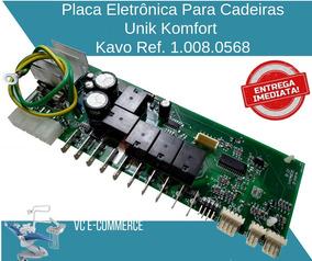 Placa Eletrô. P/ Cadeira Unik Komfort - Kavo Ref. 1.008.0568