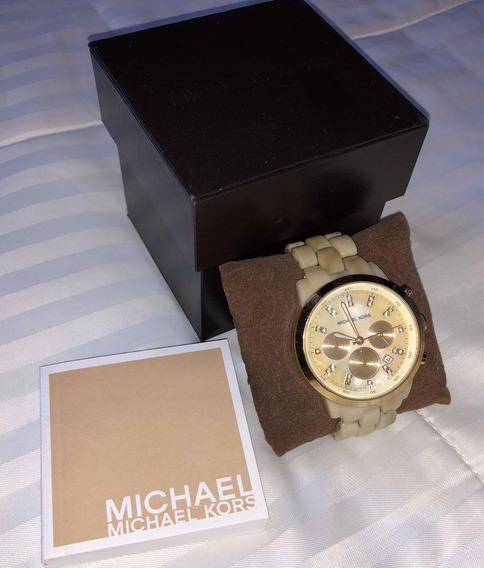 Relógio Michael Kors Tartaruga Usado - Original