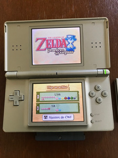 Nintendo Ds Lite Zelda Con Juego A Link To The Past