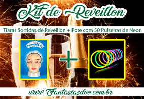 Kit Reveillon Tiara + Pulseiras