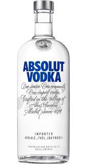 Vodka Absolut 1 Litro Original Lacrada