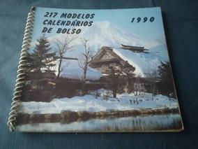 Mostruário De Calendários De Bolso 1990 Completo