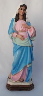 Virgen De La Dulce Espera Hechos De Resina