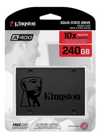 Hd Ssd Kingston 240gb Pc Notebook Lacrado A400 Original